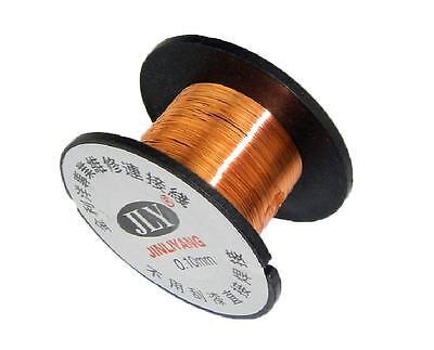 10pcs 0.1mm Copper Soldering Solder Ppa Enamelled Repair Reel Wire