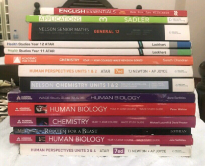 Taking most offers - atar books - maths, biology, chemistry