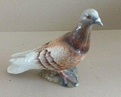 Vintage Beswick England 1383 Ceramic Brown Pigeon Figurine UNBOXED