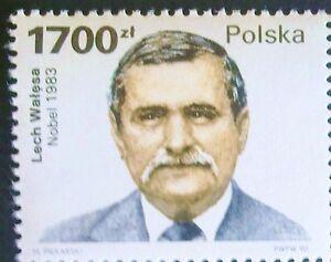 POLAND STAMPS MNH Fi3152 Sc3001 Mi3300 - Lech Walesa, 1990 - clean - Reda, Polska - POLAND STAMPS MNH Fi3152 Sc3001 Mi3300 - Lech Walesa, 1990 - clean - Reda, Polska