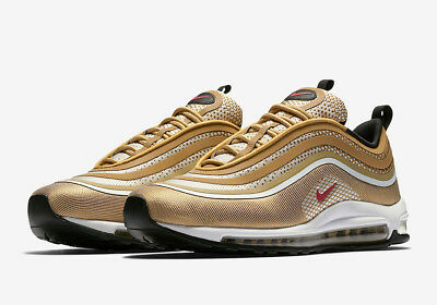 Nike Air Max 97 UL '17 Ultra # 918356 700 Metallic Gold Men SZ 7.5 - 13 Ship Now