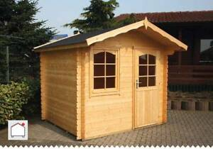 hoby ebro timber log cabin shed studio - Garden Sheds 5m X 3m