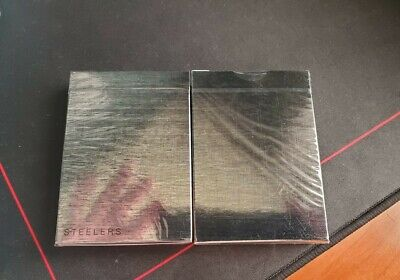 Madison Steelers Playing Cards Deck by Ellusionist Sealed Rare