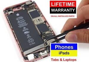 Phones, iPads, Tablets REPAIR on BEST PRICE LIFETIME WARRANTY Springwood Logan Area Preview