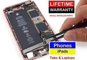 Phones, iPads, Tablets REPAIR on BEST PRICE LIFETIME WARRANTY Springwood Logan Area Preview