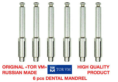 6pcs Dental Mandrel Soflex Type Flexi Disc Fit Ra Shank For Polishing Disk 3m
