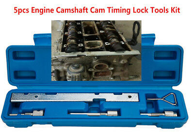 5Pcs Timing Lock Tool Kit Camshaft Cam for Ford Mazda Fiesta Volvo Focus (Camshaft Tool)