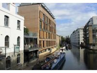 Modern 2 Bed 2 Bath Flat with amazing CANAL VIEWS