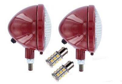 45640db Headlights Ih Farmall 100 130 140 200 230 240 300 330 340 350 400 450