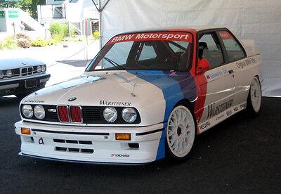 BMW M3 E30 S14 - Gruppe A DTM - Handbuch / Racing Preparation Manual Motorsport