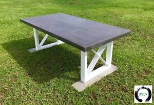 """The """"X"""" Factor - Lightweight Concrete Dining table Eumundi Noosa Area Preview"""