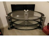 Large Glass TV Stand up to 60 inch TV