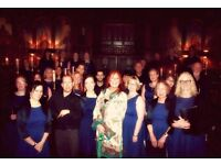 Singers Wanted for our Vibrant and Exciting choirs, many Performances in 2017