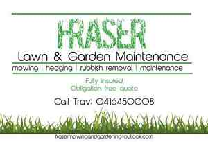 Fraser lawn & garden maintenance Miami Gold Coast South Preview