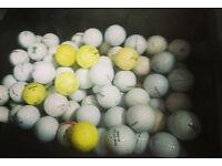 Joblot of golf balls