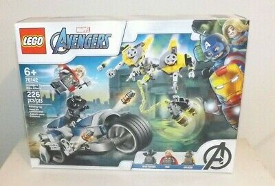 LEGO Marvel Avengers 76142 Avengers Speeder Bike Attack NEW + Free Shipping