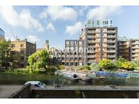 Stunning 1 bed flat with riverside views and separate office room