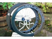 Reynolds 66mm carbon clincher wheelset for Shimano 10speed