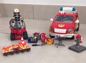 Playmobil Fire Car