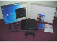 PlayStation 4 500gb, Boxed with Controller. Mint