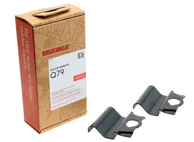 Roof Mount Boxes - Yakima Q79 Q Tower Clips w/ G Pads & Vinyl Pads #00679 2 clips Q 79 NEW in box