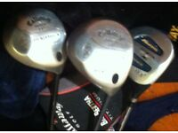 Choice of 2 Callaway Big Bertha Drivers, Graphite Shaft, Right Handed, Nice Clubs