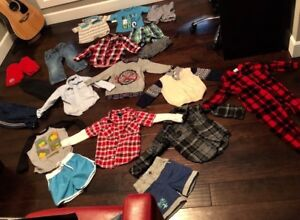 Excellent condition mostly 4t clothing