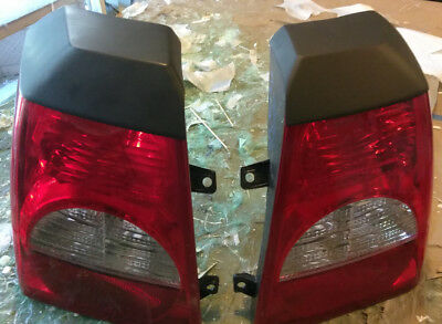 Made to fit Dodge Caliber Tail light Eyelids  06 07 08 09 10 11 12 Rear Cap