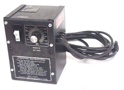 Rapid Air Corp. Piv-s Speed Controller 115v 5060 Cycles Single Phase Pivs