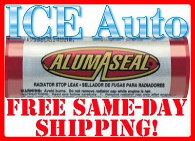 3-DAY SALE AlumAseal ASBPI12 Radiator LEAK STOP Sealer 20g Worlds Best Stop