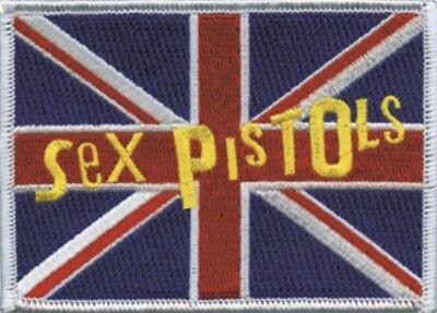Sex Pistols Union Jack Embroidered Patch S023P Ramones MC5 Clash