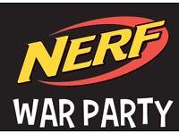 Nerf War Parties