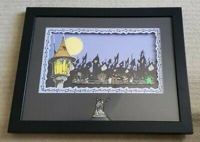 Disney's Nightmare Before Christmas Halloweentown Framed 8 Pin Set LE 500 w/ COA