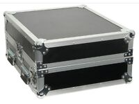 "CITRONIC 2U & 10U 19"" RACK CASE FLIGHTCASE FLIGHT CASE MIXER"