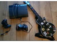 PS3 - 500Gb - Guitar Hero Guitar