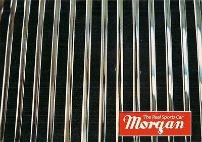 Morgan 4/4 & Plus 8 1984-86 UK Market Foldout Sales Brochure