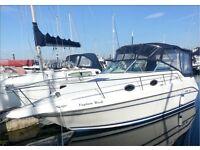 cabin cruiser sea ray 250 sundancer
