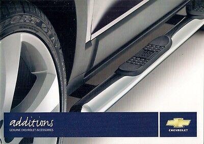 Chevrolet Accessories 2008 UK Market Sales Brochure Matiz Kalos Lacetti Captiva