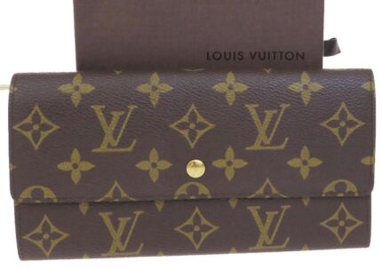 Authentic Louis Vuitton Sarah Long Wallet Bag