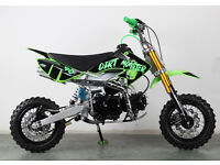 SEMI AUTOMATIC PIT BIKE, NEW 2017 MODEL DIRT MONSTER 90cc PIT BIKE