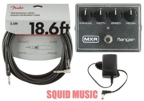 MXR Flanger Reissue Guitar Effects Pedal Metallic Grey M-117R (FENDER 18) M117R