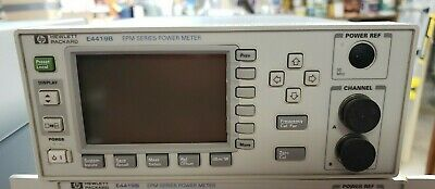 Hp E4419b Epm Series Dual Channel Rf Power Meter W Opt 003 Rear Panel Inputs