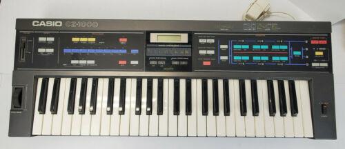 Casio CZ-1000 Synthesizer keyboard Wired in Power Supply
