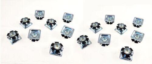 "16 Pack Threaded Star Type 1""(OD) Square Tubing Insert 3/8-16 Threads  S71-326"