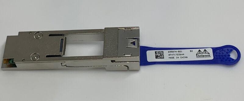 Mellanox 665874-B21 AF471723644 MAM1Q00A-QSA Adapter 10Gb QSFP+ TO SFP+  -DG