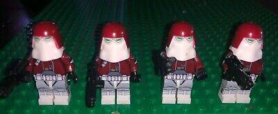 Custom LEGO Star Wars Galactic Marine Minifigure 501st Clone Trooper 75002 75004