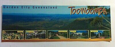 TOOWOOMBA GARDEN CITY - QLD AUSTRALIA - PANORAMIC  FOLDING VINTAGE (Garden City Qld)