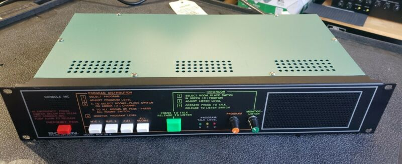 Bogen MCP35A Master Control Panel MCP 35 A - Barely Used