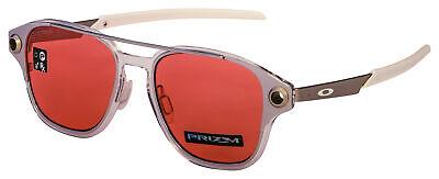 Oakley Coldfuse Sunglasses OO6042-0252 Polished Chrome   Prizm Peach (Chrome Lens Sunglasses)