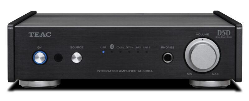 Teac AI-301DA-XB Pre-main Amplifier, Bluetooth®, USB, Digital-to-analog Conve...
